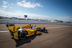 IndyCar Practice report Hunter-Reay tops his Andretti Autosport teammates in Friday practice at St. Pete