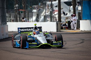 IndyCar Race report Clutch issues spoil St. Petersburg for Newgarden and SFHR