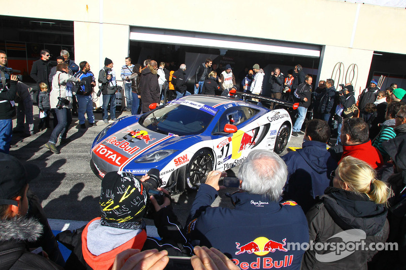 The countdown for Nogaro has started on Sébastien Loeb Racing