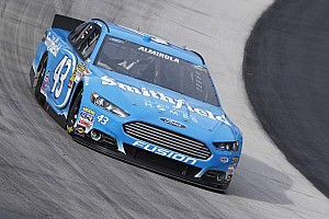 NASCAR Sprint Cup Preview Aric Almirola eyes victory lane driving iconic No. 43 at Martinsville Speedway