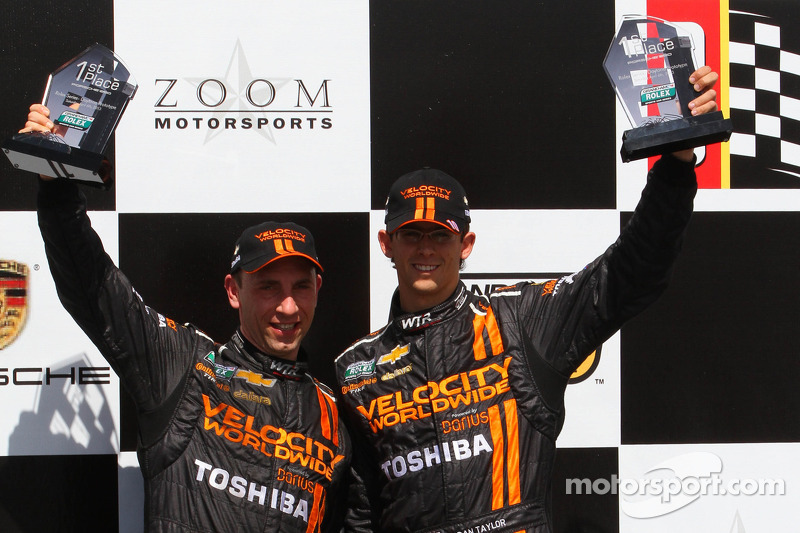 Continental Tire: Angelelli and Taylor score first win of 2013