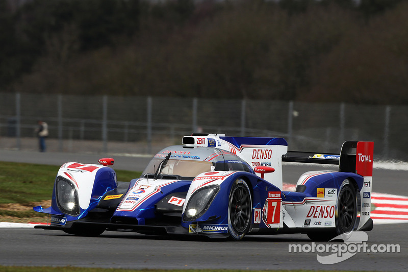 Toyota's Silverstone front row lockout