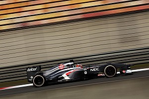 Nico Hülkenberg scored one point for Sauber at the Chinese Grand Prix