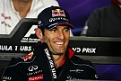 Webber has secured his new ride with Porsche for Le Mans 2014