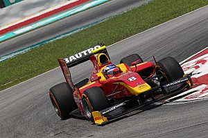 GP2 Qualifying report Leimer and Racing Engineering dominate the Friday sessions at Sakhir Circuit