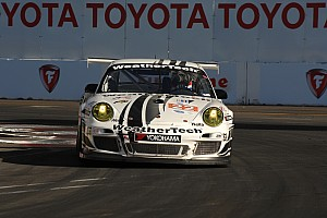 ALMS Qualifying report WeatherTech Porsche on Pole in GTC at Long Beach