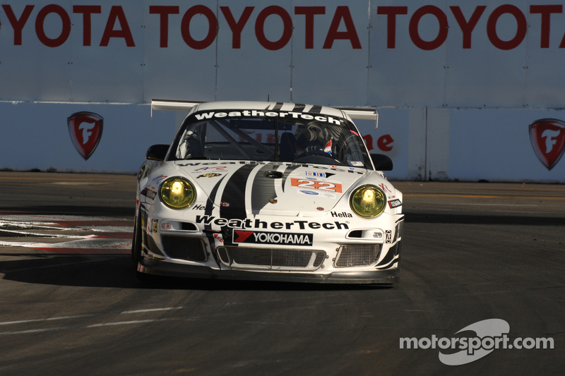 WeatherTech Porsche on Pole in GTC at Long Beach