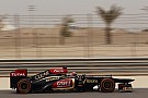 Similar qualifying positions as last year for Lotus at Bahrain