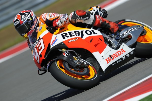 Marquez smashes the record books at circuit of the Americas