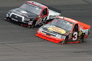 NASCAR Truck Race report Richard Childress Racing teammates finished fourth and eighth on Kansas 250