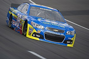 NASCAR Sprint Cup Race report Newman finishes 14th at Kansas