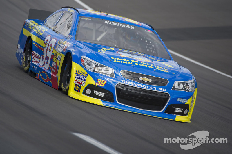 Newman finishes 14th at Kansas