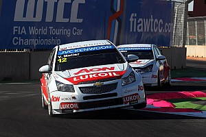 WTCC Qualifying report Muller and Chilton qualify 4th and 5th in halted session in Slovakia