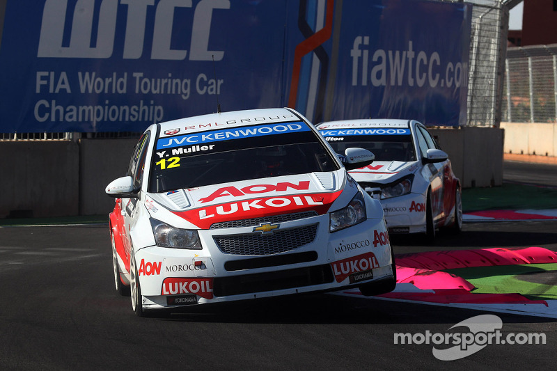Muller and Chilton qualify 4th and 5th in halted session in Slovakia