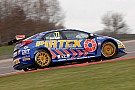 Andrew Jordan flies at Thruxton