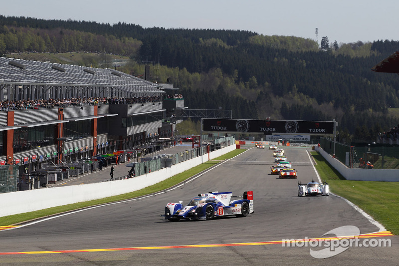 Eventful race for Toyota Racing at Spa