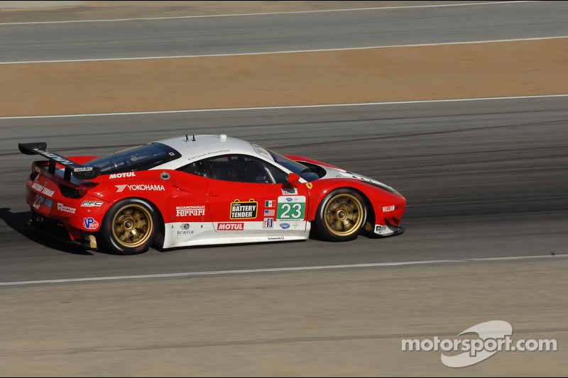Bell and Sweedler to start sixth in GT at Laguna Seca