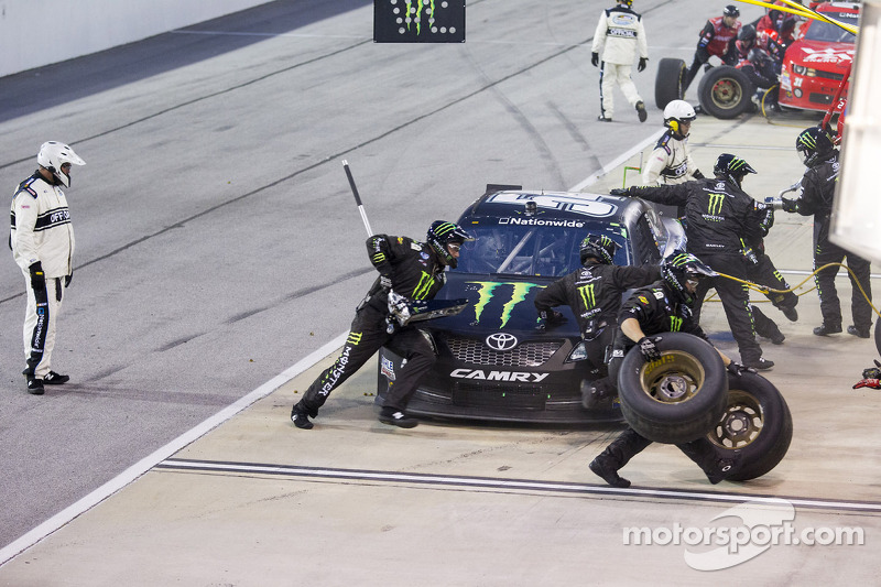 NASCAR places the No. 54 JGR crew chief and car chief on probation