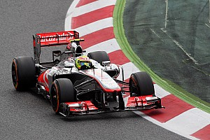 McLaren happy with Perez and Button - boss