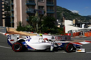 GP2 Race report Points for Trident's Ceccon on Sprint Race at Monte Carlo