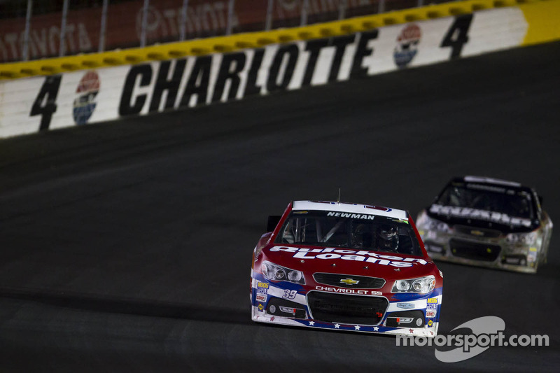 Newman finishes 6th in bizarre Charlotte 600