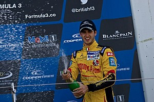 BF3 Race report First F3 win for Giovinazzi in race 2 at Silverstone