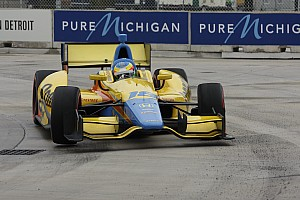 Mike Conway wins in Detroit