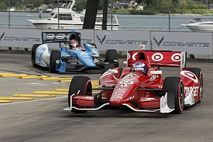 IndyCar Race report Dixon leads team with pair of fourth-place finishes in Detroit Doubleheader