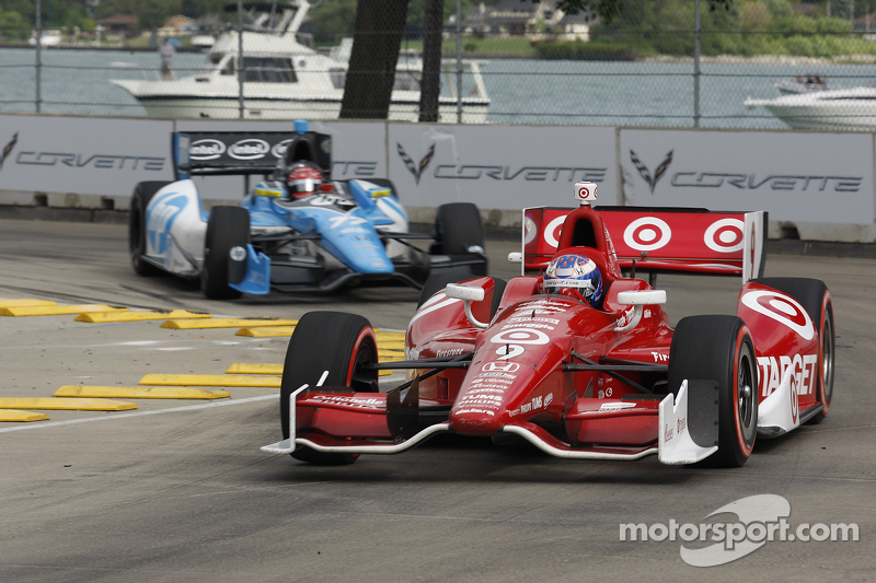 Dixon leads team with pair of fourth-place finishes in Detroit Doubleheader