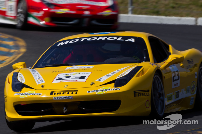 Ferrari Challenge puts on a show to the delight of Formula One fans
