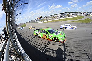 NASCAR Sprint Cup Race report Patrick finds 13 'lucky' at Michigan