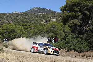 WRC Preview Citroën Total Abu Dhabi WRT is looking for a strong performance at the Rally Italia Sardenga