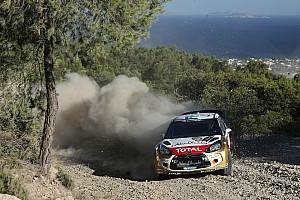 WRC Leg report Citroen made it through the longest day in Italy