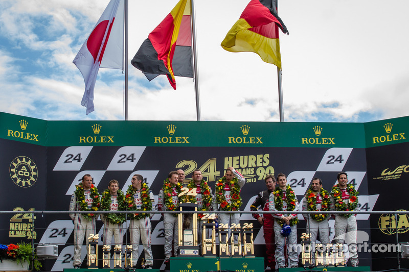 24 Heures du Mans: The greatest challenge conquered by Audi, Strakka and OAK in LMP1 and 2