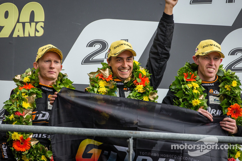 Third in class for Conway at 24 Heures Du Mans