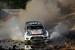 WRC Race report High five – triumph for Volkswagen and Ogier at Rally Italy
