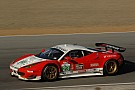 Sweedler and Bell look forward Lime Rock Park in their Ferrari