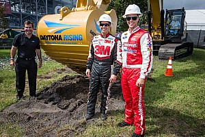 NASCAR Sprint Cup Breaking news Daytona Rising: Ground breaking has begun for the renovations