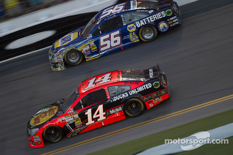 Stewart's Chevrolet SS is all black for this weekend at Loudon