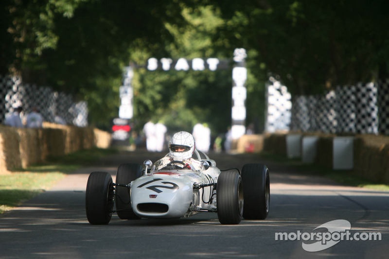 Tarquini savours Honda Formula One heritage at Festival of Speed