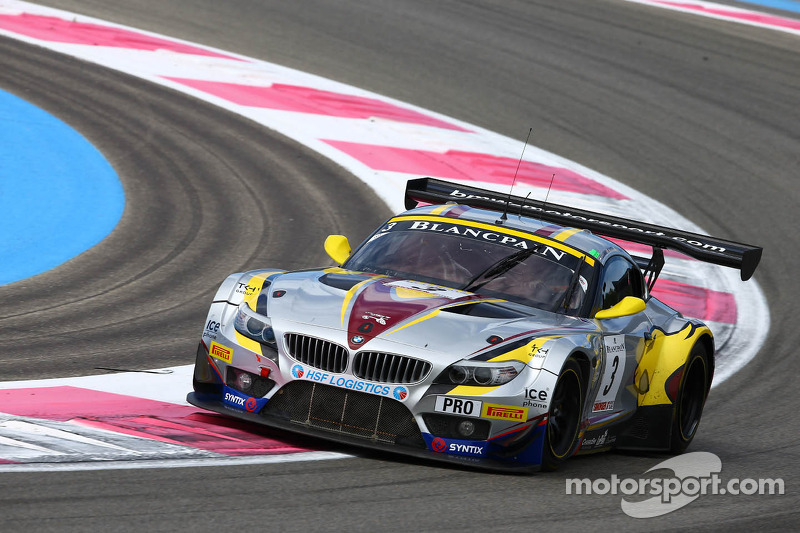 Marc VDS Racing lines up at Spa with three BMW Z4 GT3s