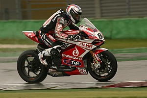 World Superbike Race report Badovini and Team SBK Ducati Alstare achieve first podium with the Panigale in Moscow
