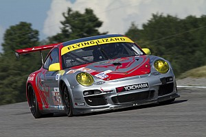 Flying Lizard finishes at Mosport