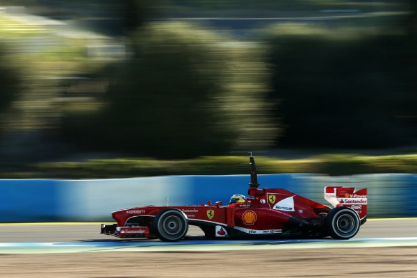 Ferrari begins three-day test in France