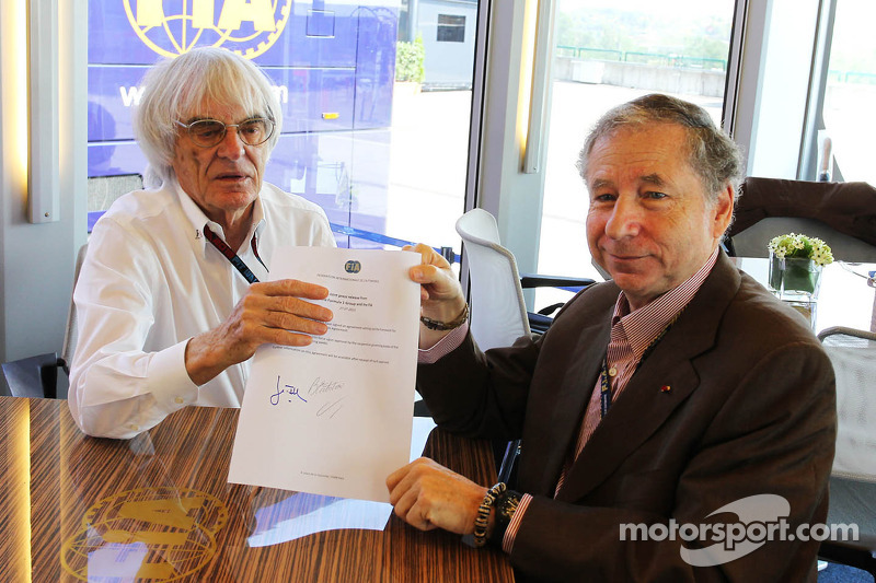 FIA to keep control of F1's print media