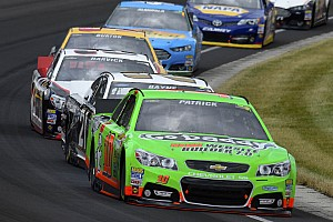 "Danica Patrick hoping to improve in her second race at the ""Tricky Triangle"""