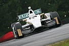 Tough track conditions hinder Carpenter's laps friday in Mid-Ohio practice