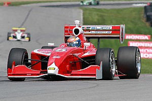 Indy Lights Race report Dempsey secures second place finish at Mid-Ohio sports car course