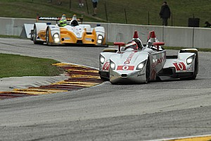 ALMS Race report Great weekend for the DeltaWing with the Bridgestone Potenza at Road America