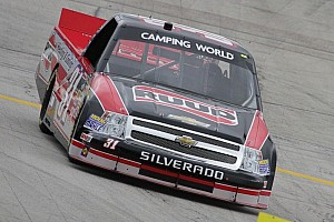 NASCAR Truck Race report Buescher up front late to take win in Michigan 200